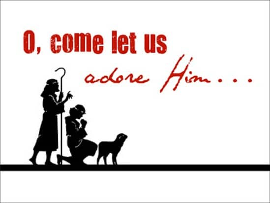 O Come Let Us Adore Him - Over 50 Creative Christmas Printables Collection