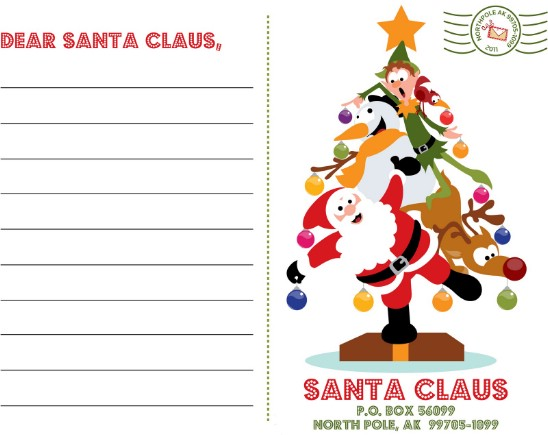 Santa Letters - Over 50 Creative Christmas Printables Collection