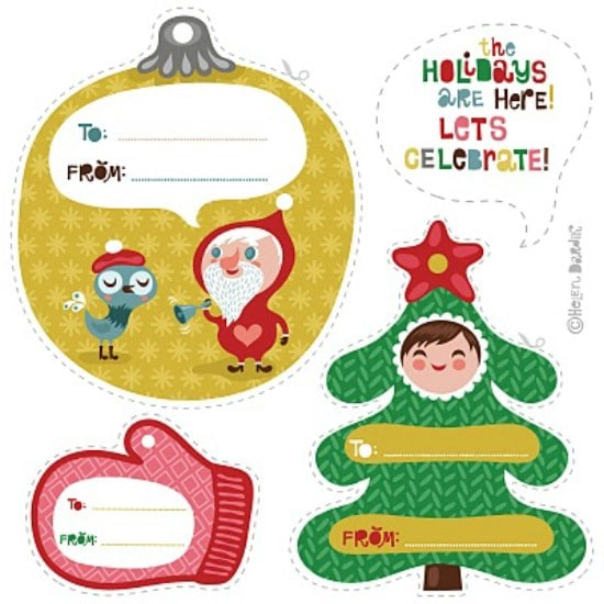 Holiday Gift Tags - Over 50 Creative Christmas Printables Collection