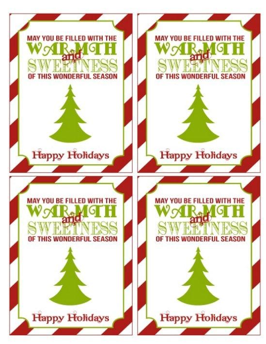 Warmth and Sweetness Printables - Over 50 Creative Christmas Printables Collection