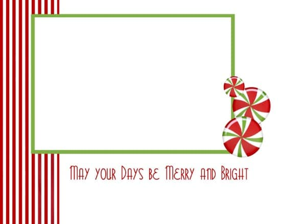 Christmas Cards - Over 50 Creative Christmas Printables Collection