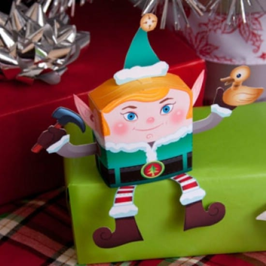 3D Elf - Over 50 Creative Christmas Printables Collection
