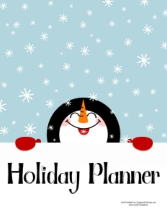 Christmas Planner - Over 50 Creative Christmas Printables Collection