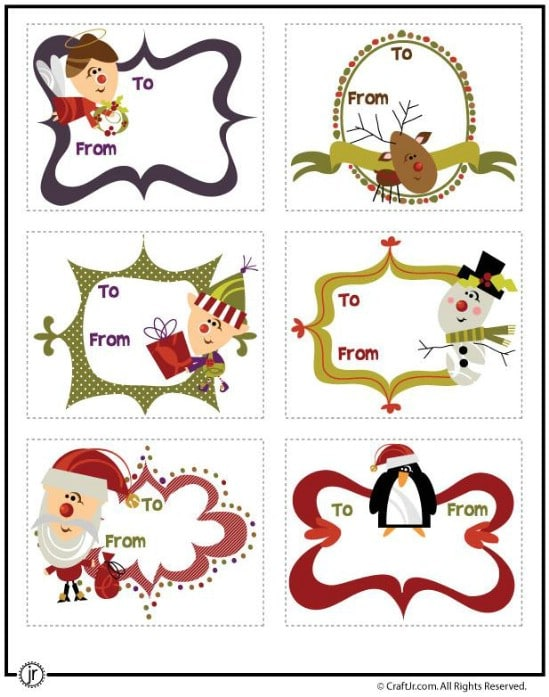 Printable Decorations - Over 50 Creative Christmas Printables Collection