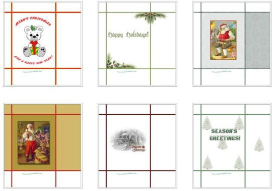 Christmas Gift Bags - Over 50 Creative Christmas Printables Collection