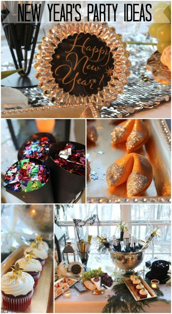 28 Fun And Easy Diy New Year S Eve Party Ideas Diy Amp Crafts
