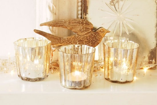Use Candles - 60 Beautifully Festive Ways to Decorate Your Porch for Christmas