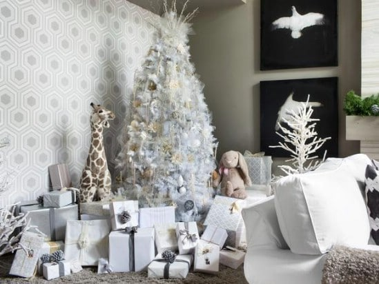 Winter Wonderland - 30 Stunning Ways to Decorate Your Living Room This Christmas
