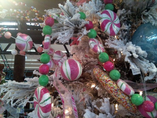 Candyland Christmas - 30 Stunning Ways to Decorate Your Living Room This Christmas