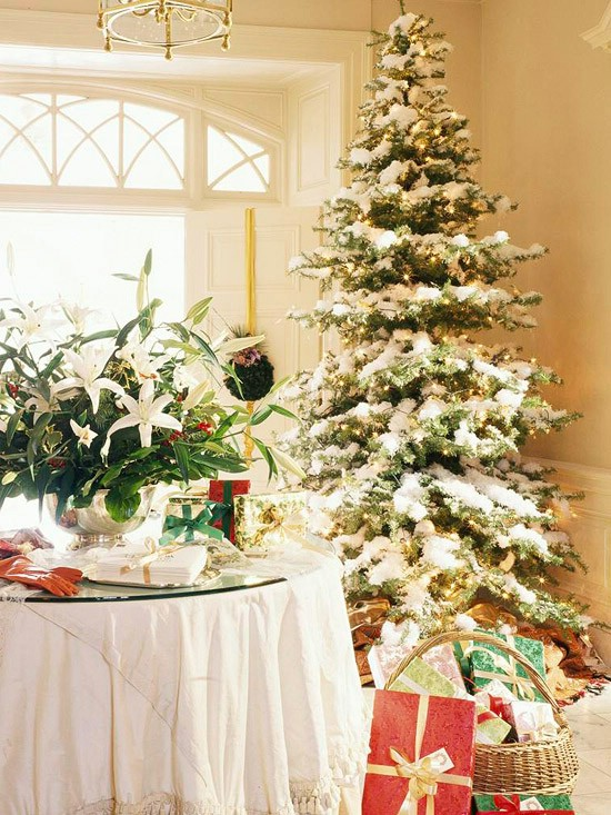 Let It Snow! - 30 Stunning Ways to Decorate Your Living Room This Christmas