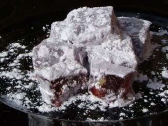 Turkish Delight - 25 Yummy Homemade Christmas Candy Recipes