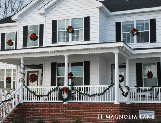 Decorate Steps - 60 Beautifully Festive Ways to Decorate Your Porch for Christmas