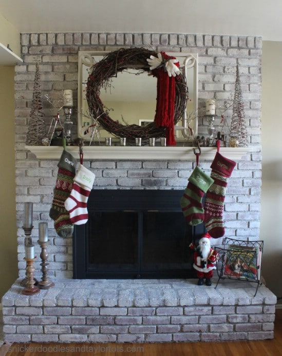 Make a Mitten Wreath - 60 Beautifully Festive Ways to Decorate Your Porch for Christmas
