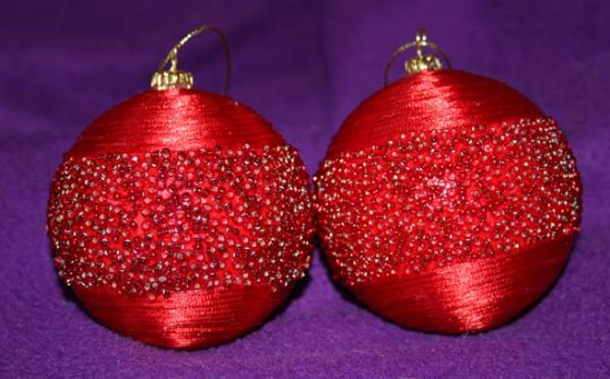 Beautiful Beaded Ornaments