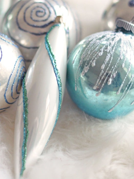 Glitter Pen Ornaments