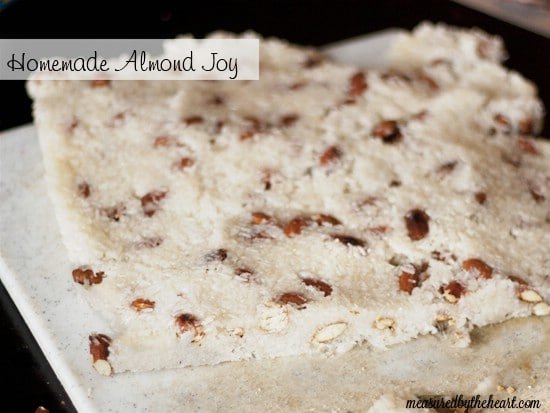 Homemade Almond Joy - 25 Yummy Homemade Christmas Candy Recipes