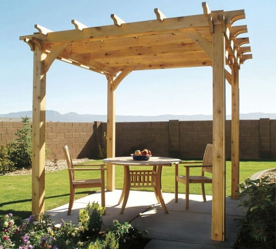 DIY Pergola - 10 Outdoor DIY Projects That Inspire Beauty and Relaxation