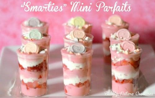 Conversation Hearts Mini Parfaits - 20 Tasty and Romantic Valentine's Day Treats You Will Love