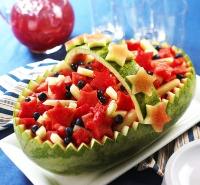 Make Melon Bowls - 20 Surprising Uses for Leftover Fruit and Vegetable Peels