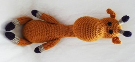 Stuffed Giraffe - 30 Super Easy Knitting and Crochet Patterns for Beginners