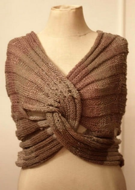 Infinity Wrap - 30 Super Easy Knitting and Crochet Patterns for Beginners