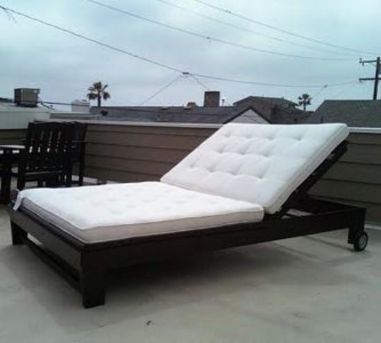 DIY Chaise Lounge - 10 Outdoor DIY Projects That Inspire Beauty and Relaxation