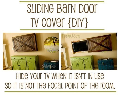 Put It Behind Closed Doors - 10 Brilliant Ways to Disguise Your Flat Screen TV