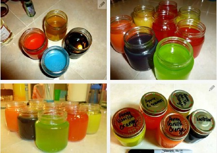 Homemade Air Freshener Gel