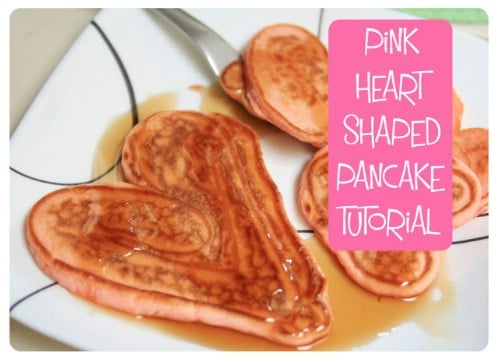 Valentine Pancakes - 20 Tasty and Romantic Valentine's Day Treats You Will Love