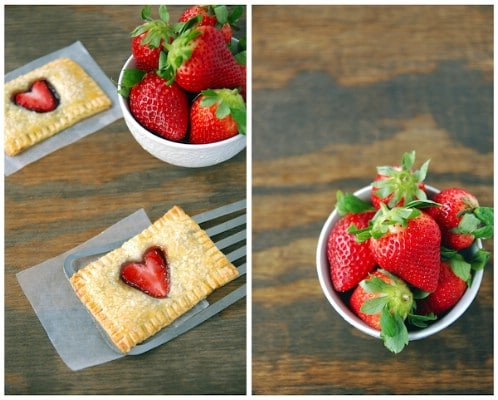 Homemade Strawberry Nutella Pop Tarts - 20 Tasty and Romantic Valentine's Day Treats You Will Love