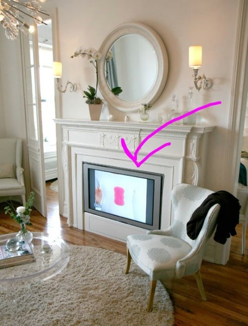 Hide It In Plain Sight - 10 Brilliant Ways to Disguise Your Flat Screen TV