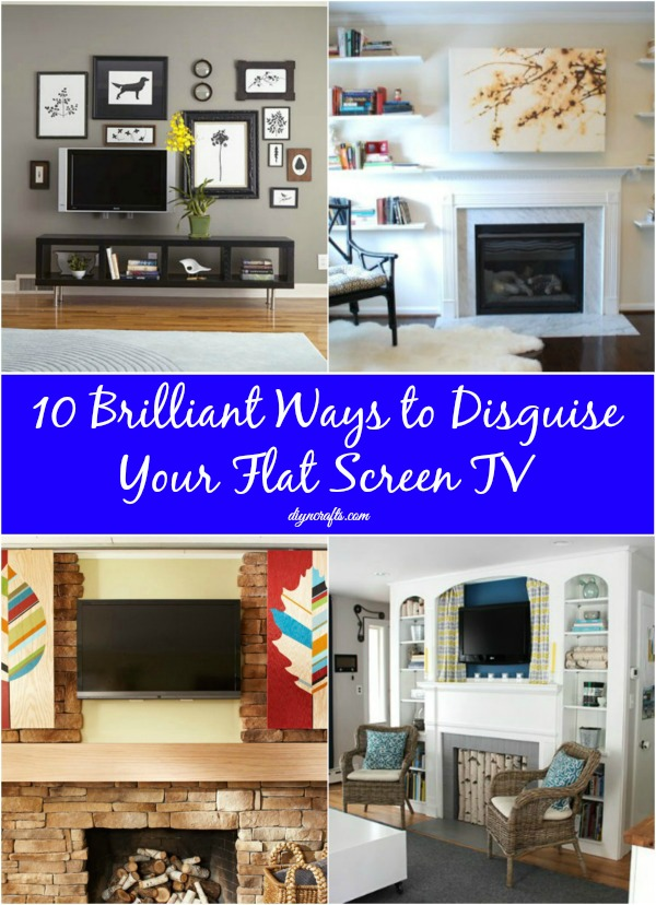 10 Brilliant Ways to Disguise Your Flat Screen TV