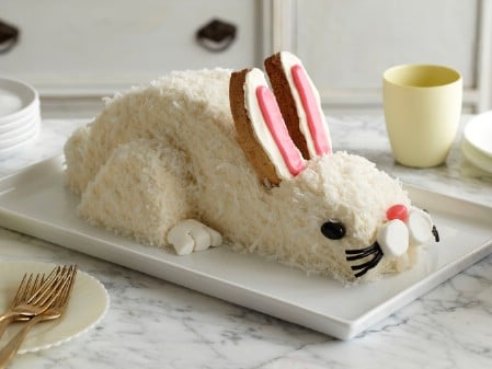 Easter Bunny Cake - 100 Easy and Delicious Easter Treats and Desserts