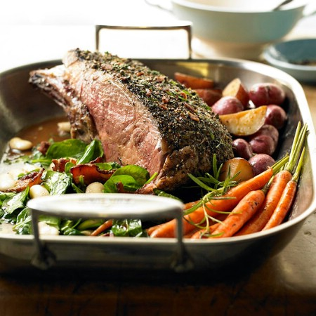 Sunday Beef Rib Roast