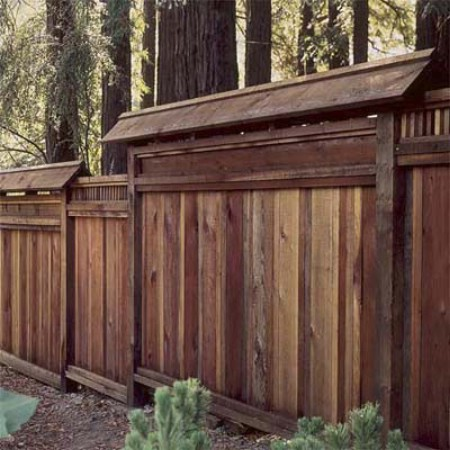 Re-Stain The Fence - 150 Remarkable Projects and Ideas to Improve Your Home's Curb Appeal