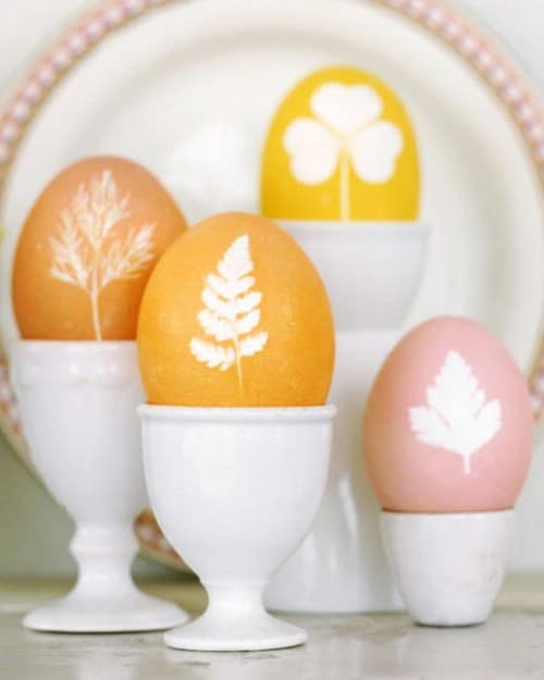 Botanical Easter Eggs - 80 Creative and Fun Easter Egg Decorating and Craft Ideas