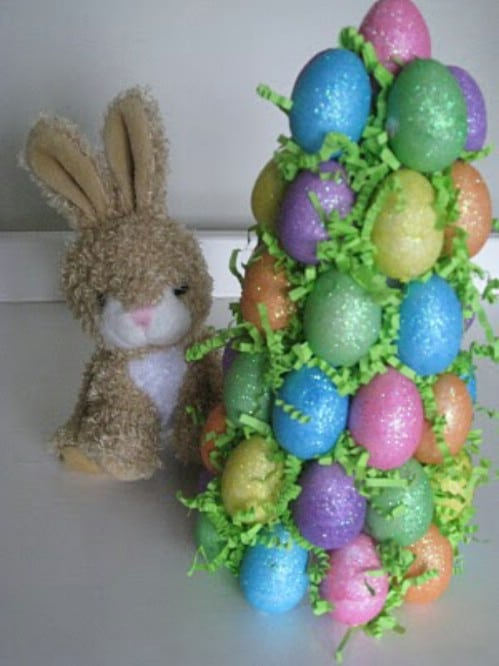 Easter Tree - 80 Fabulous Easter Decorations You Can Make Yourself