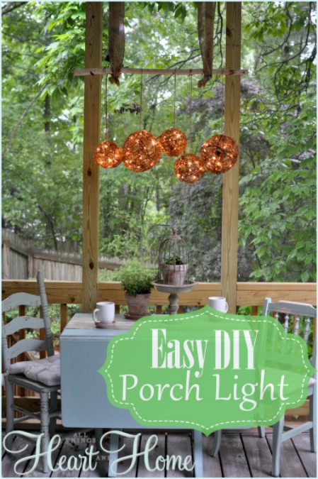Add A Front Porch Chandelier - 150 Remarkable Projects and Ideas to Improve Your Home's Curb Appeal