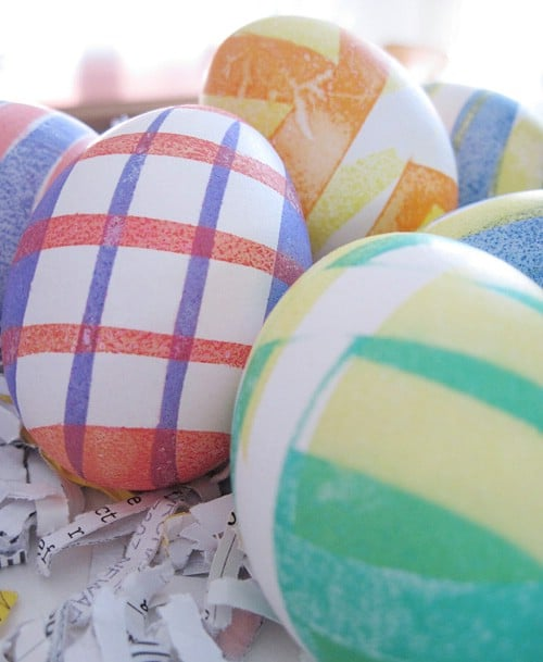 Graphical Design Easter Eggs - 80 Creative and Fun Easter Egg Decorating and Craft Ideas