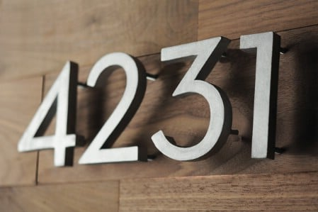 Redo Your House Numbers - 150 Remarkable Projects and Ideas to Improve Your Home's Curb Appeal