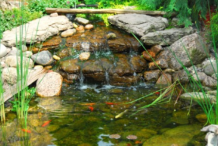 Build An Outdoor Waterfall - 150 Remarkable Projects and Ideas to Improve Your Home's Curb Appeal