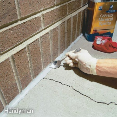 Repair Cracked Concrete - 150 Remarkable Projects and Ideas to Improve Your Home's Curb Appeal
