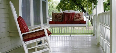 Add A Welcoming Seating Area - 150 Remarkable Projects and Ideas to Improve Your Home's Curb Appeal