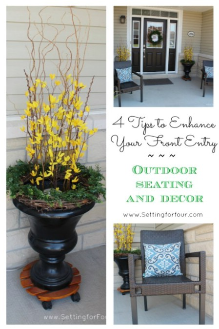 Repurpose Old Urns - 150 Remarkable Projects and Ideas to Improve Your Home's Curb Appeal