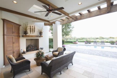Install A Ceiling Fan On The Porch - 150 Remarkable Projects and Ideas to Improve Your Home's Curb Appeal