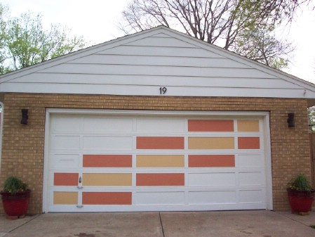 Modernize The Garage Door - 150 Remarkable Projects and Ideas to Improve Your Home's Curb Appeal