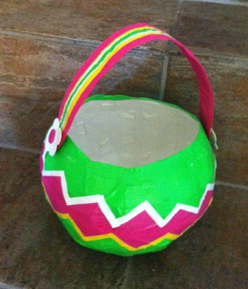 Duct Tape Easter Baskets
