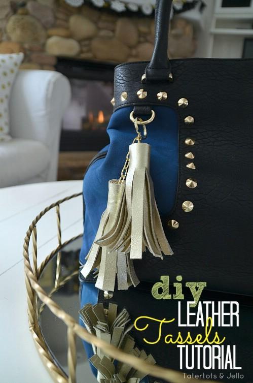 Leather Tassel Accessories