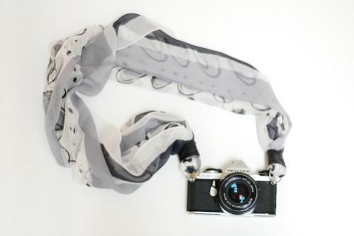 Custom Silk Camera Strap