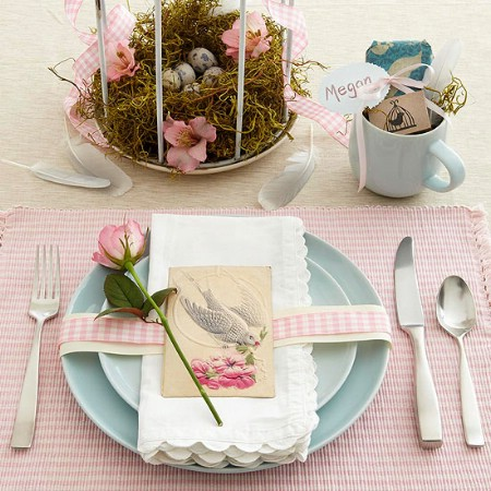 Birdcage Centerpiece - 40 Beautiful DIY Easter Centerpieces to Dress Up Your Dinner Table